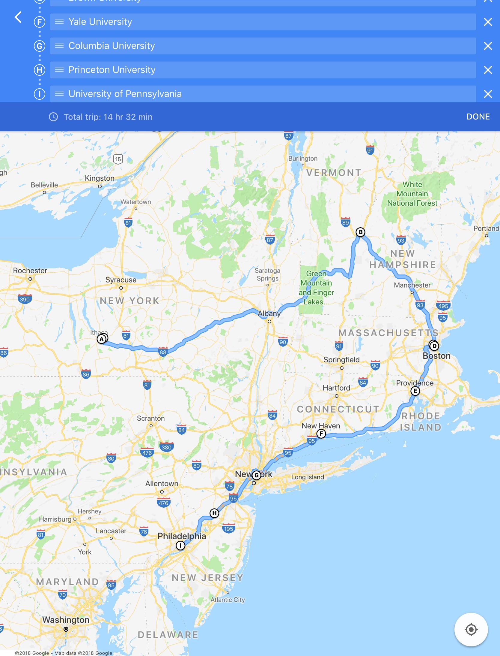 IvyAchievement route