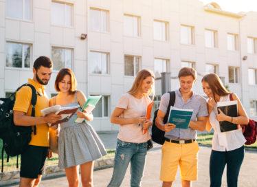 Students enjoy summer on campus